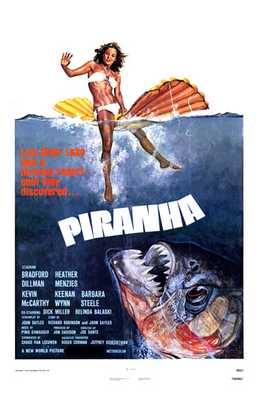 Piranha poster print by  Entertainment Poster