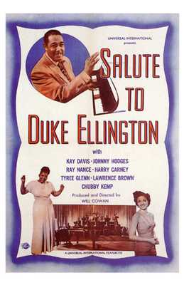 Salute to Duke Ellington poster print by  Entertainment Poster