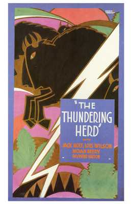 Thundering Herd, the poster print by  Entertainment Poster