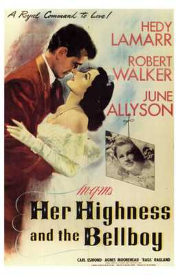 Her Highness and the Bellboy poster print by  Entertainment Poster