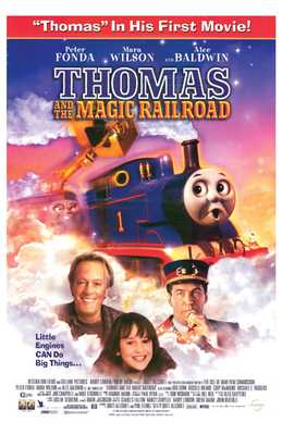 Thomas and the Magic Railroad poster print by  Entertainment Poster