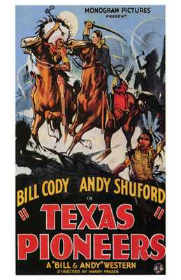 Texas Pioneers poster print by  Entertainment Poster
