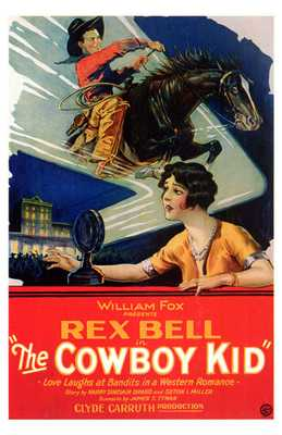 Cowboy Kid, the poster print by  Entertainment Poster