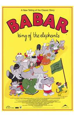 Babar: King of the Elephants poster print by  Entertainment Poster