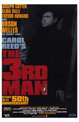 Third Man, the poster print by Entertainment Poster