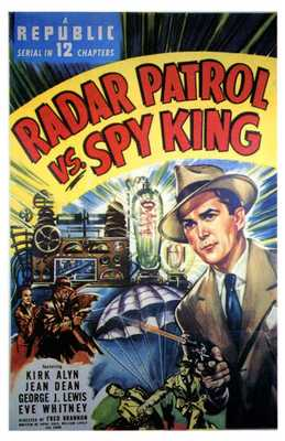 Radar Patrol Vs Spy King poster print by  Entertainment Poster