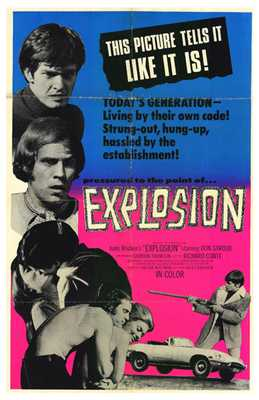 Explosion poster print by  Entertainment Poster