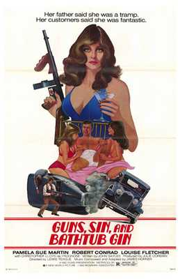 Guns, Sin and Bathtub Gin poster print by  Entertainment Poster