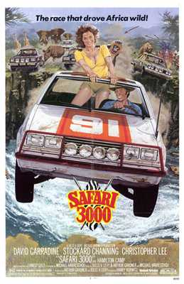 Safari 3000 poster print by  Entertainment Poster