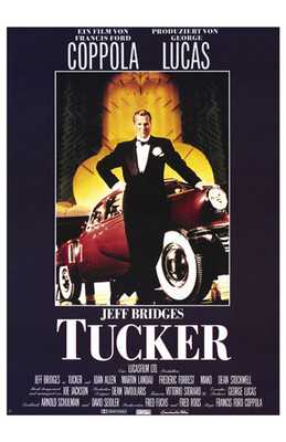 Tucker: the Man and His Dream poster print by  Entertainment Poster