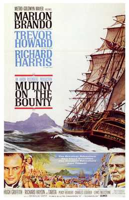 Mutiny on the Bounty poster print by  Entertainment Poster