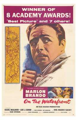 on the Waterfront poster print by  Entertainment Poster