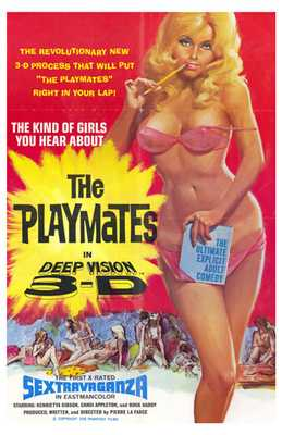 Playmates in Deep Vision 3-D poster print by  Entertainment Poster