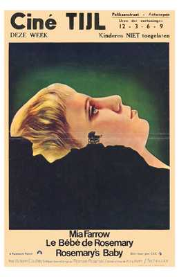 Rosemary's Baby poster print by  Entertainment Poster
