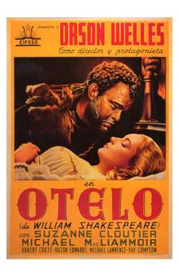 Othello poster print by  Entertainment Poster