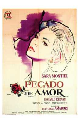 Pecado De Amor poster print by  Entertainment Poster