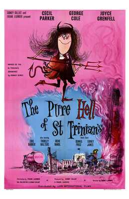 Pure Hell of St Trinian's, the poster print by  Entertainment Poster