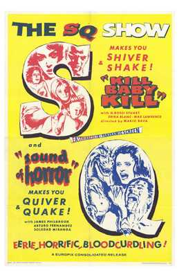 Kill Baby Kill-Sound of Horror (Combo) poster print by  Entertainment Poster