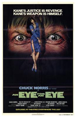 Eye for an Eye, an poster print by  Entertainment Poster