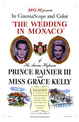 Wedding in Monaco poster print by  Entertainment Poster