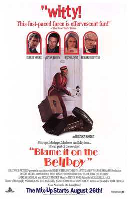 Blame it on the Bellboy poster print by  Entertainment Poster