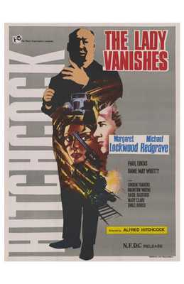 Lady Vanishes, the poster print by  Entertainment Poster