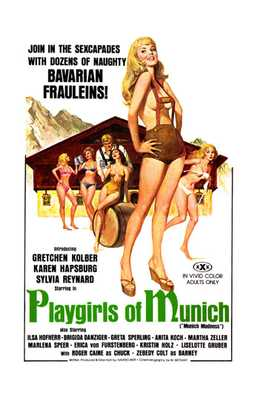 Playgirls of Munich poster print by  Entertainment Poster
