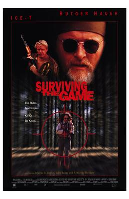 Surviving the Game poster print by  Entertainment Poster