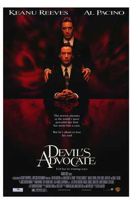 Devil's Advocate poster print by  Entertainment Poster