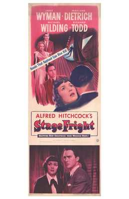 Stage Fright poster print by  Entertainment Poster