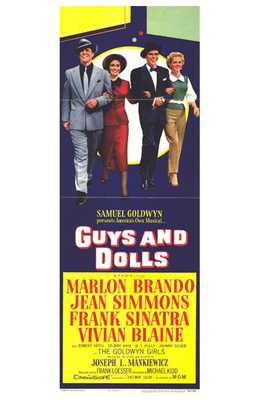 Guys and Dolls poster print by  Entertainment Poster