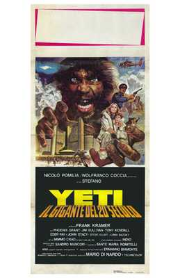 Yeti: the Giant of the 20Th Century poster print by  Entertainment Poster
