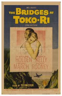 Bridges At Toko-Ri poster print by Entertainment Poster