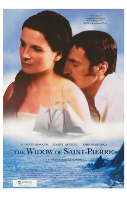 Widow of Saint-Pierre, the poster print by  Entertainment Poster