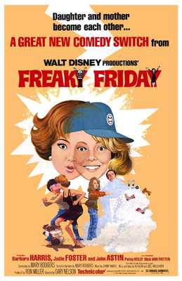 Freaky Friday poster print by  Entertainment Poster