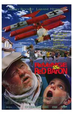 Revenge of the Red Baron poster print by  Entertainment Poster