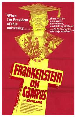 Doctor Frankenstein on Campus poster print by  Entertainment Poster