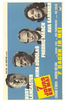 Seven Days in May poster print by  Entertainment Poster