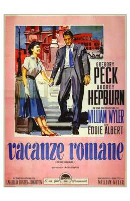 Roman Holiday poster print by Entertainment Poster