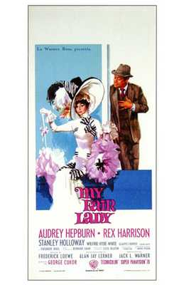 My Fair Lady poster print by Entertainment Poster