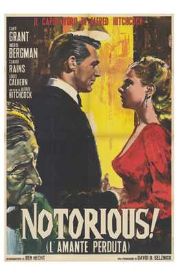 Notorious poster print by  Entertainment Poster