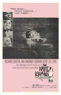 Night of the Iguana, the poster print by  Entertainment Poster
