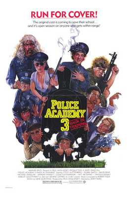 Police Academy 3 Back in Training poster print by  Entertainment Poster