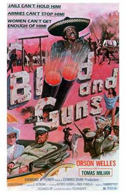 Blood and Guns poster print by  Entertainment Poster