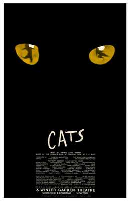 Cats (Broadway Musical) poster print by  Entertainment Poster