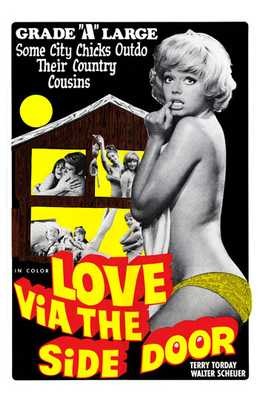 Love Via the Side Door poster print by  Entertainment Poster