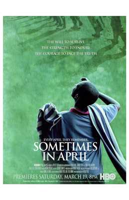Sometimes in April poster print by  Entertainment Poster