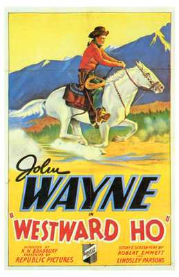 Westward Ho poster print by  Entertainment Poster