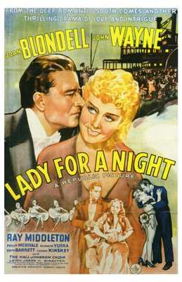 Lady for a Night poster print by  Entertainment Poster