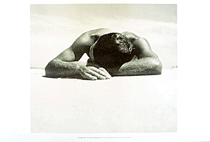 Sunbaker, 1937 poster print by Max Dupain